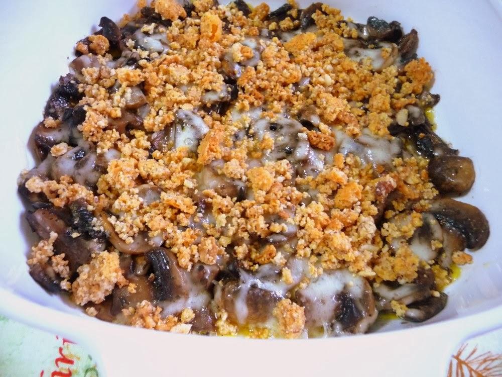... baked mushrooms broken bread recipes dishmaps baked mushrooms broken