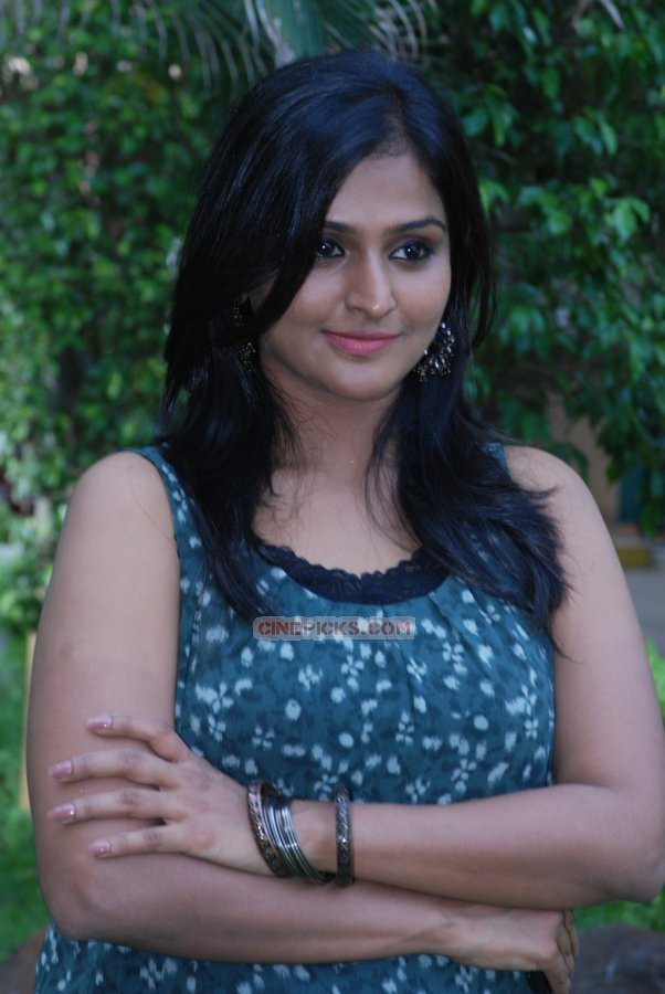 Actress Ramya Nambeesan in pizza tamil movie event photos