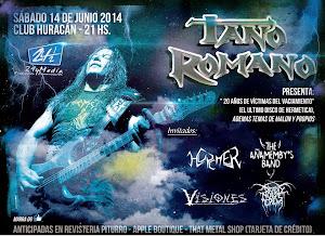TANO ROMANO EN POSADAS!! SABADO 14 DE JUNIO 2014
