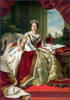 Queen Victoria (1819-1901):  <br>在位 1837-1901