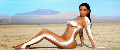 Kim Kardashian naked fat