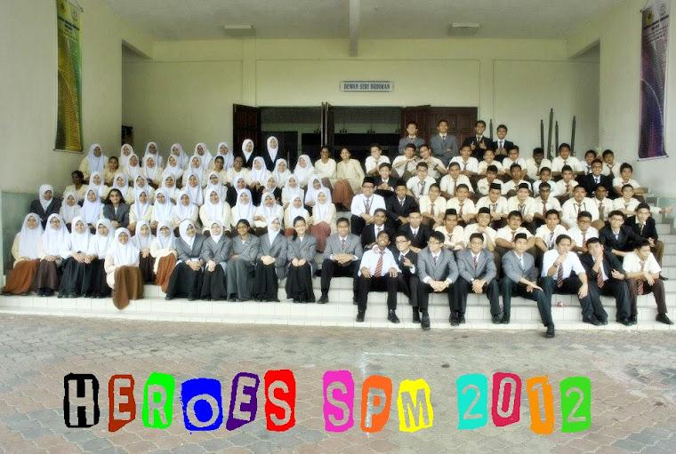 H.E.R.O.E.S SPM 2012