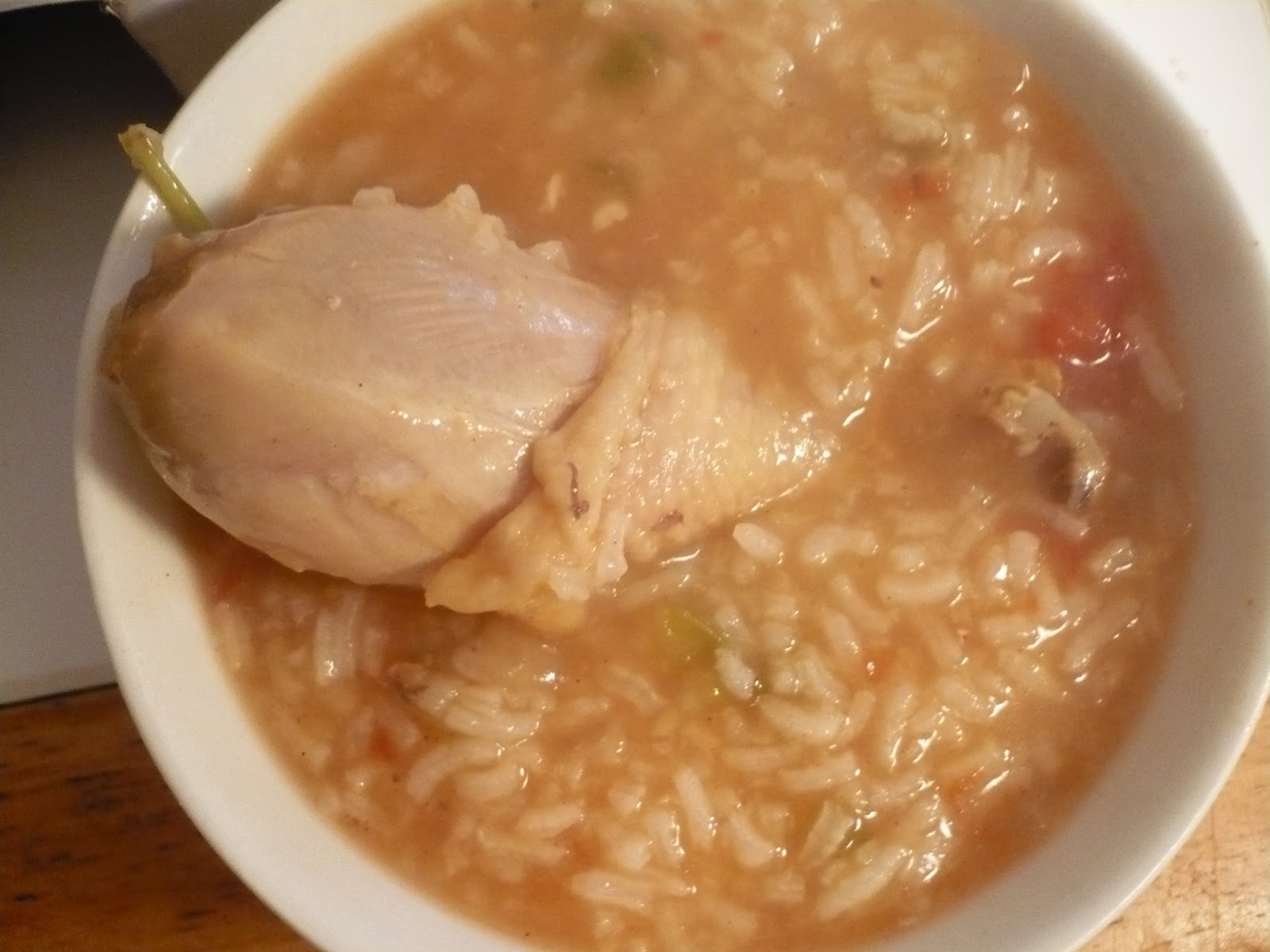 Little Global Kitchen: Nicaraguan Chicken and Rice Soup ...