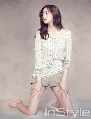 Kang Sora InStyle Magazine July 2013