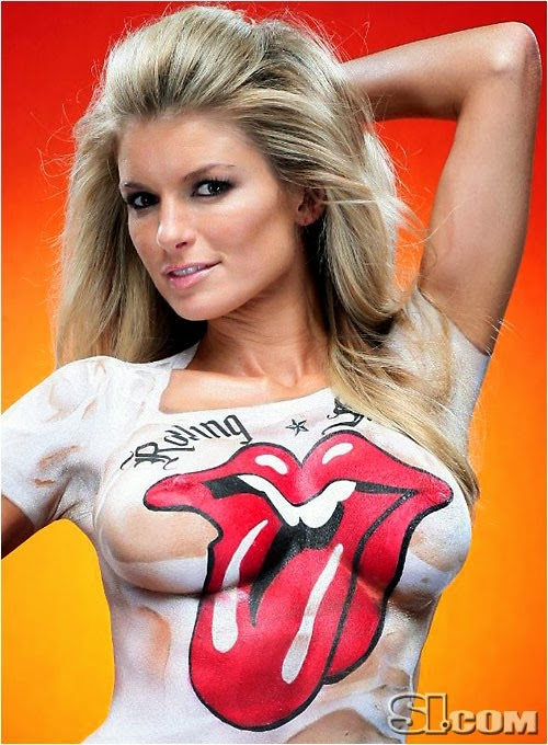 Stones Logo Body Paint