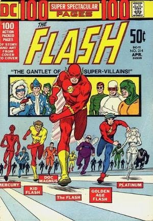 The Flash #214 comic cover