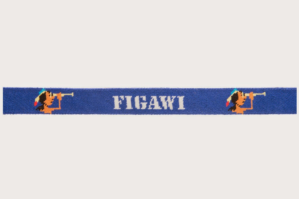 Tucker Blair Figawi 2014 Needle Point Belt