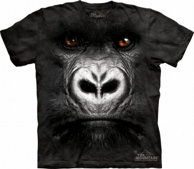 Amazing Animals Faces On T.Shirts Seen On www.coolpicturegallery.us
