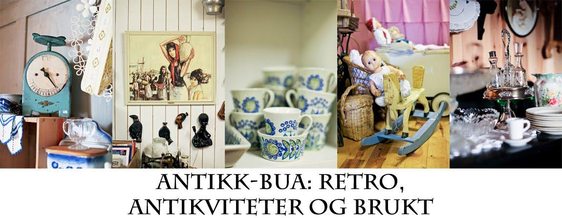 Antikk-Bua: Retro, antikviteter og brukt