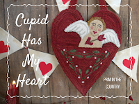 Cupid Has My Heart Punch Needle Pattern $7.00