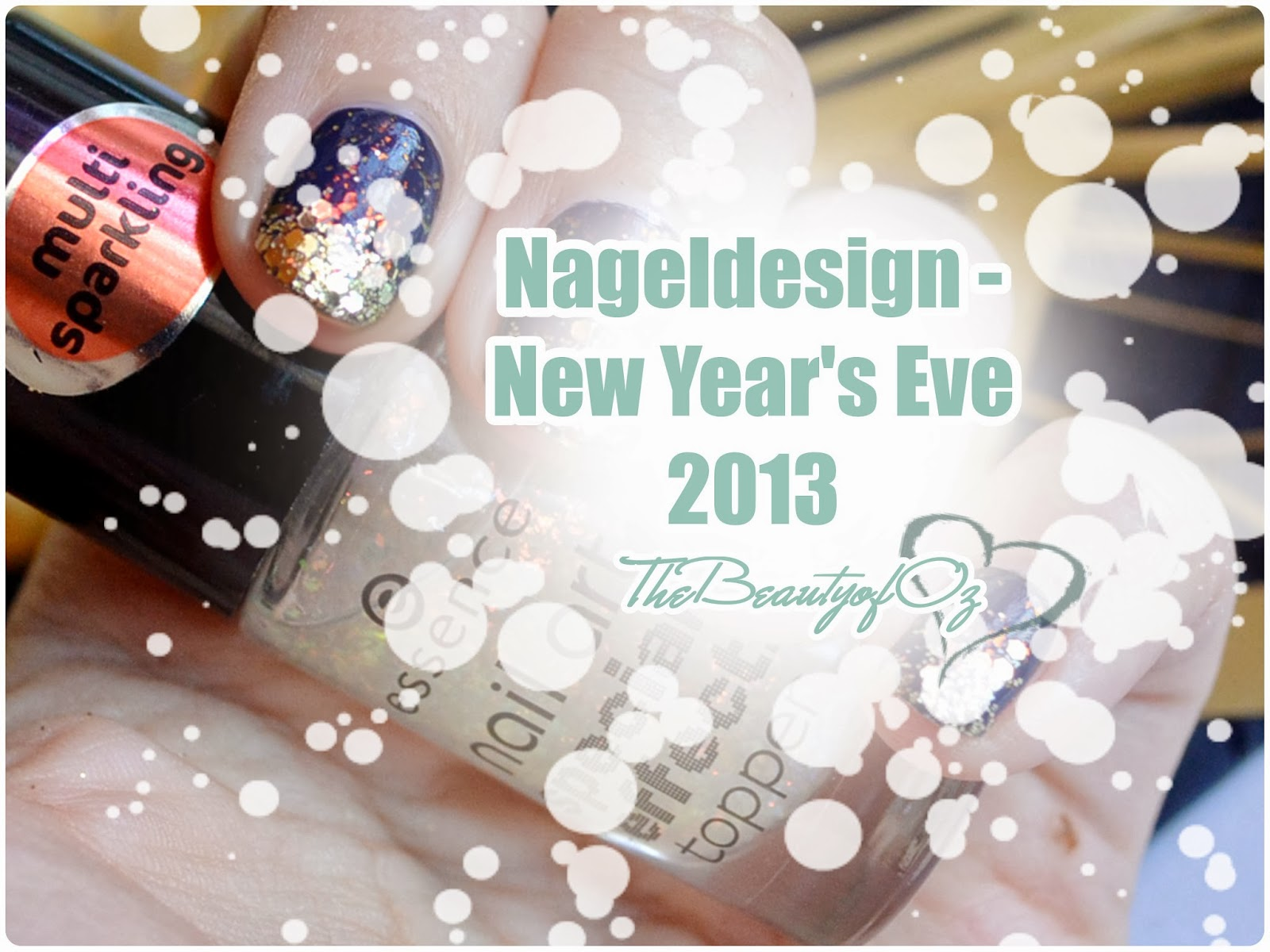 Nageldesign Silvester WELL PREPARED FOR NEW YEAR'S EVE