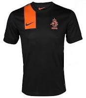 Euro 2012 Netherlands Away Jersey