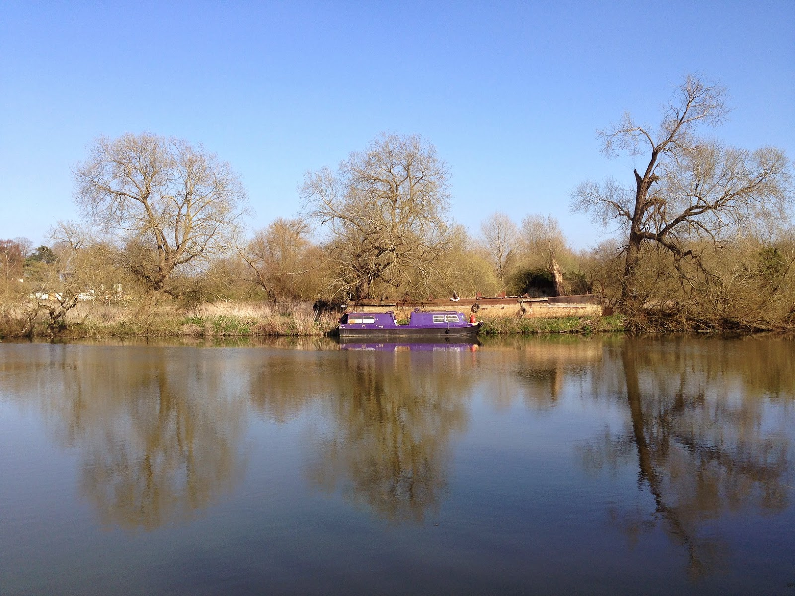 River Thames beyond Shillingford