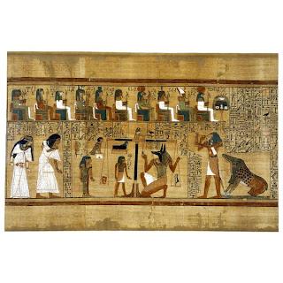 محاكمة الموتي عند المصريين القدماء