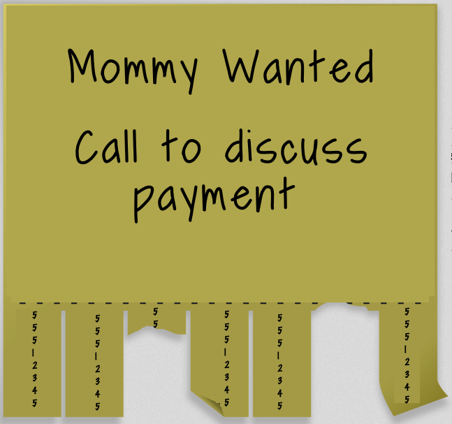honest toddler: Mommy Wanted: Job Offer