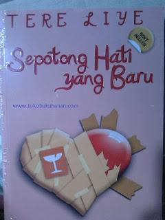 buku Tere Liye Sepotong hati yang baru