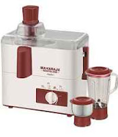 Buy Maharaja Whiteline Mark-1 (JX-100) 450 W Juicer Mixer Grinder (White & Red/2 Jar) at Rs 1500 Via  Paytm:Buytoearn