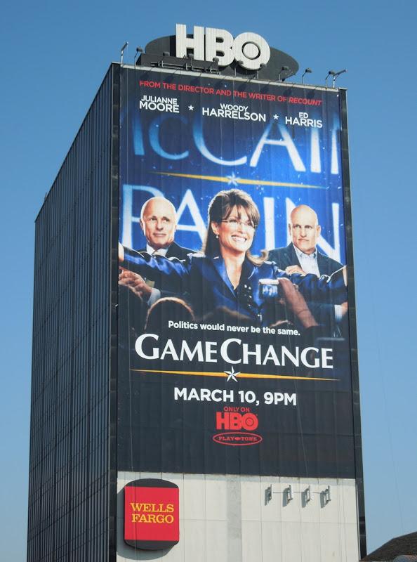 Giant Game Change HBO billboard