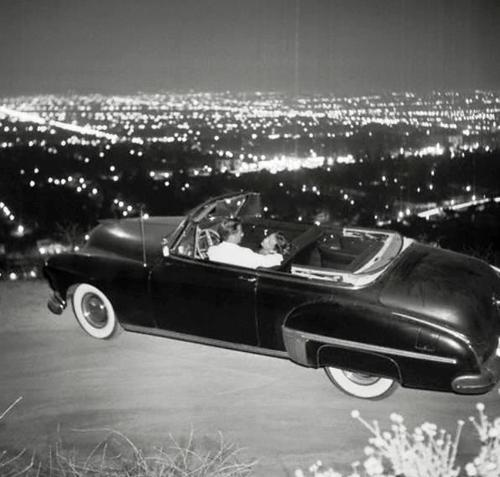 Mulholland Drive in the '50s