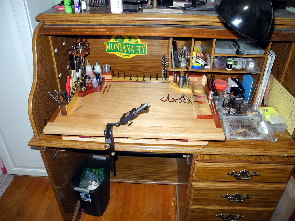 Cp 39 S Fly Fishing And Fly Tying New Tying Bench Finest Fly Tying Benches Of Colorado