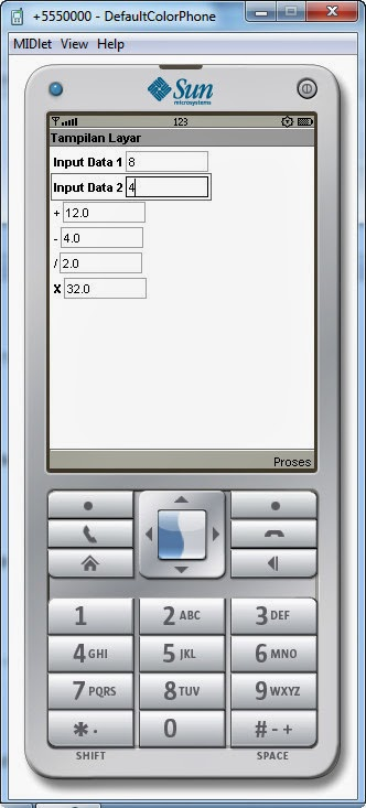 Cara Membuat Kalkulator Sederhana Untuk Handphone Berbasis Java Programming