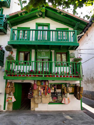 Barrio de los pescadores de Hondarribia