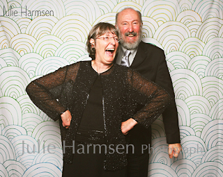 Patricia Stimac and Kent Buttars in Photo Booth