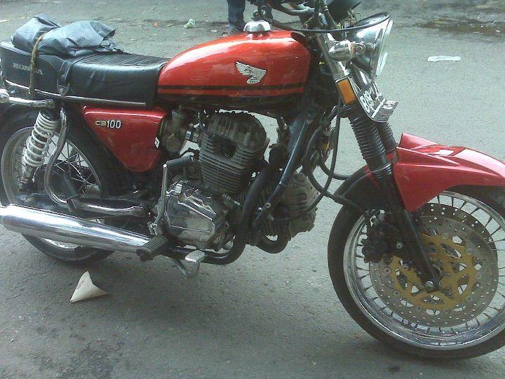 Modifikasi Honda Cb 100 Gambar Modifikasi Motor Terbaru   Motorcycle ...