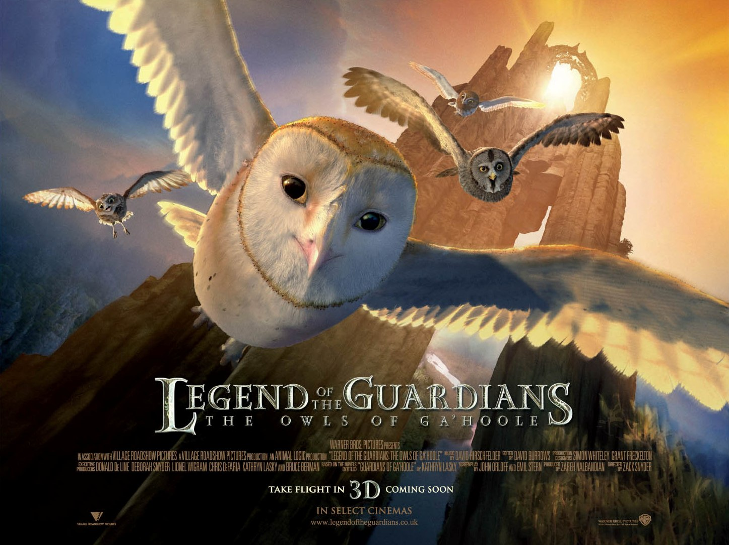 Legend of the Guardians: The Owls of Gau0026#39;Hoole - Movies Maniac