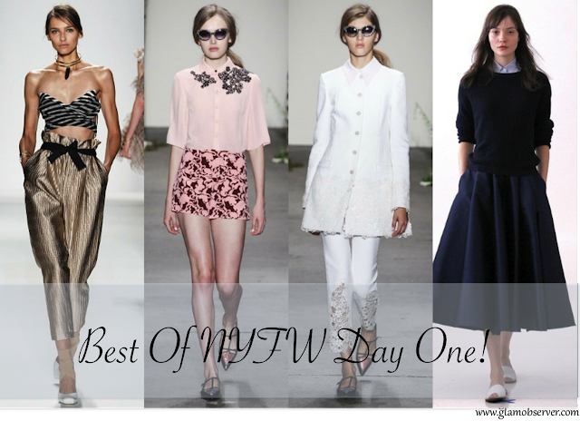 Ny Fashion Week : Best Runway Looks from Day One