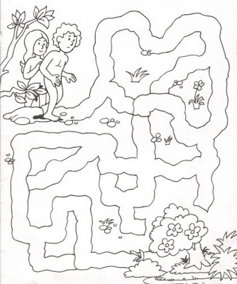 laberintos Adán y Eva
