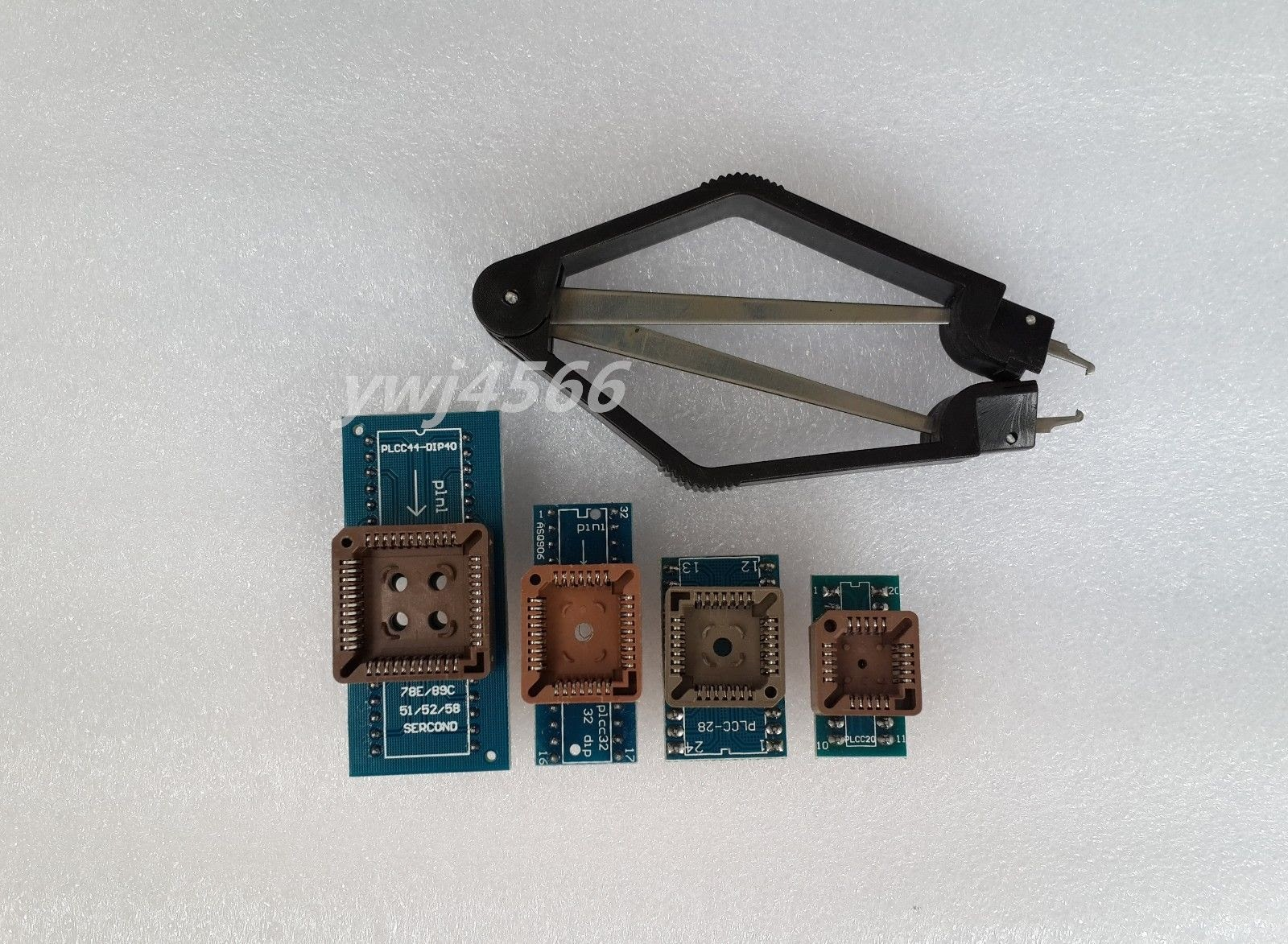 Oh Soic8 Sop8 Tes Ic Flash Chip Bios Adpter Klip Soket 24 25 93 Jepit Test Clip Eeprom Rom Soic Sop Programer Adapter 1 X Plcc32 Dip32 Sop16 Msop8 Tssop8