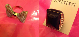 Forever 21 Bow Ring