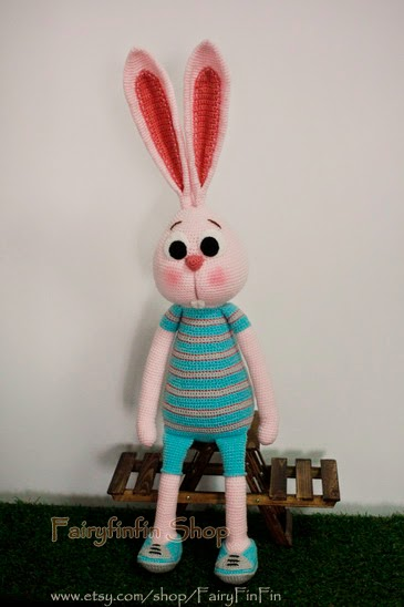 Amigurumi Arms And Legs : FairyFinFin: Cute Crochet Long Ears Long Legs Long Arms ...