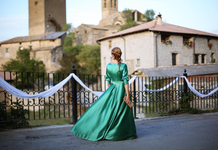 Looks vestido verde boda