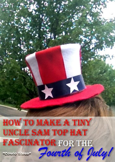 Uncle Sam Fascinator for the Fourth of July | 20 Crafts for the 4th of July - Independence Day DIYs | directorjewels.com