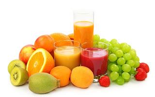 fresh vibrant fruits & veggies