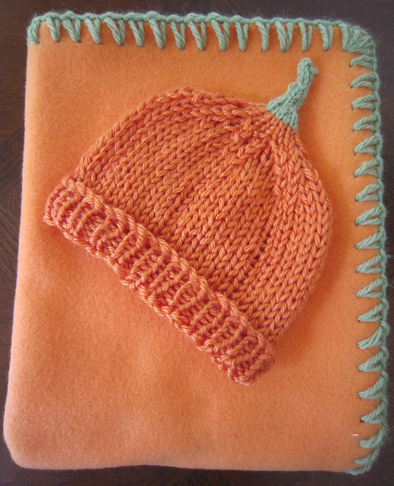 Knitting Instructions Ssk : Sea trail grandmas preemie pumpkin hat knit pattern
