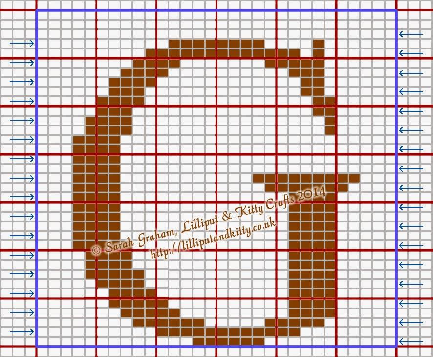Knitting Pattern Capital Letters : Lilliput & Kitty Crafts: Times New Roman Large Capital ...