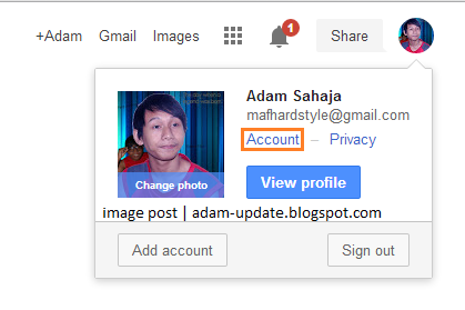 Cara Delete Google Plus Profile