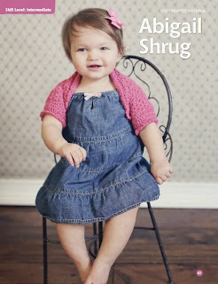 crochet pattern abigail shrug