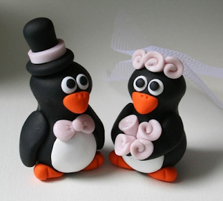 Animals Wedding Cake Toppers