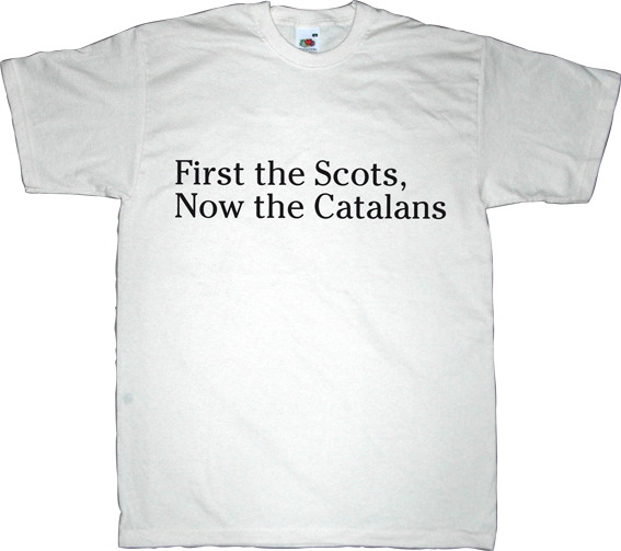 catalonia scotland independence referendum 9n freedom t-shirt ephemeral-t-shirts