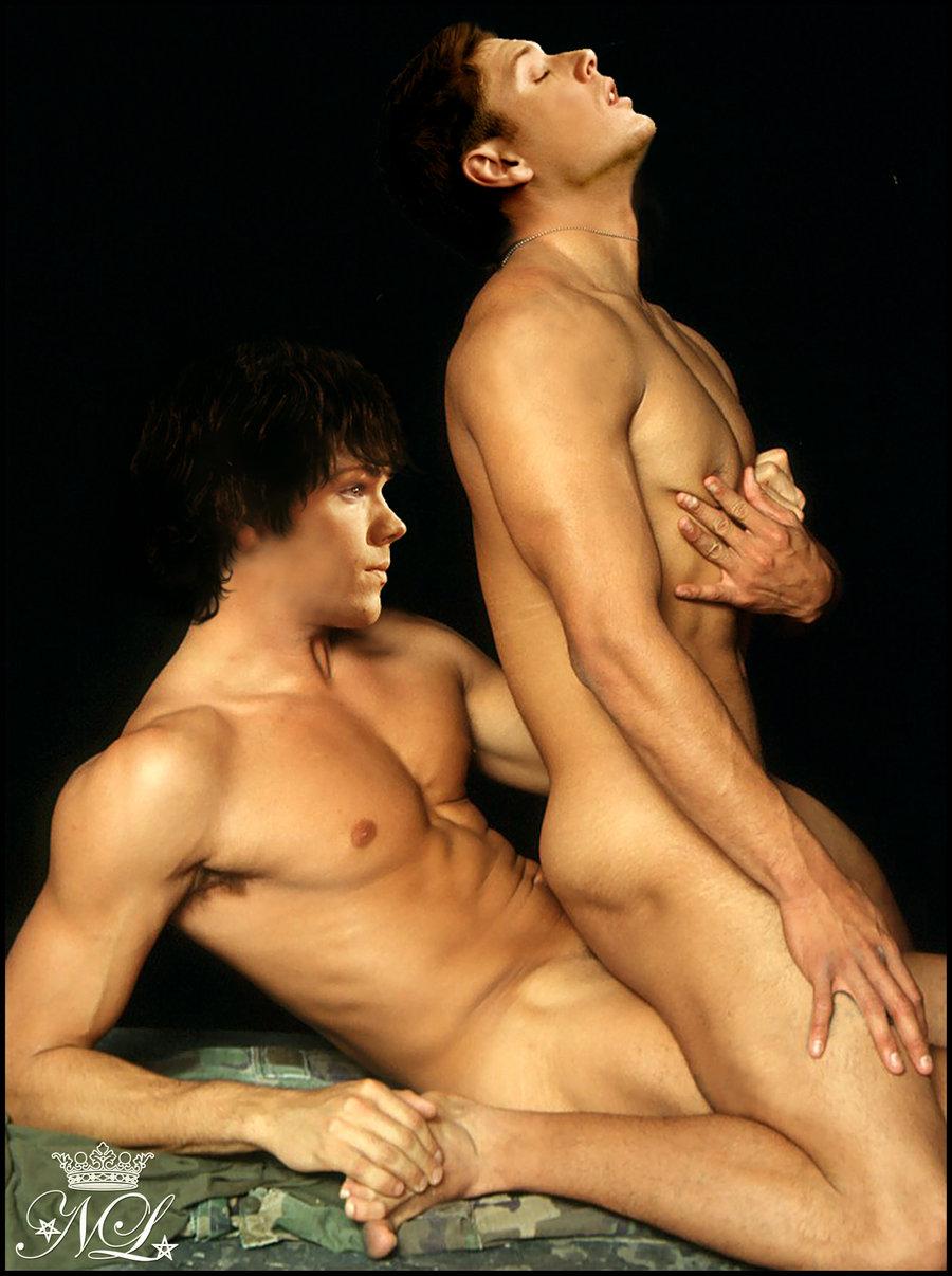 Jensen Ackles Fake Nudes Stunning sinners paradise: fakes: supernatural (1)