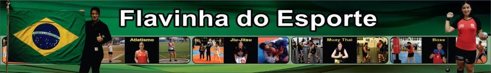 Atleta Flávia Carvalho Fracini