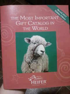Heifer International Holiday Gift Catalog