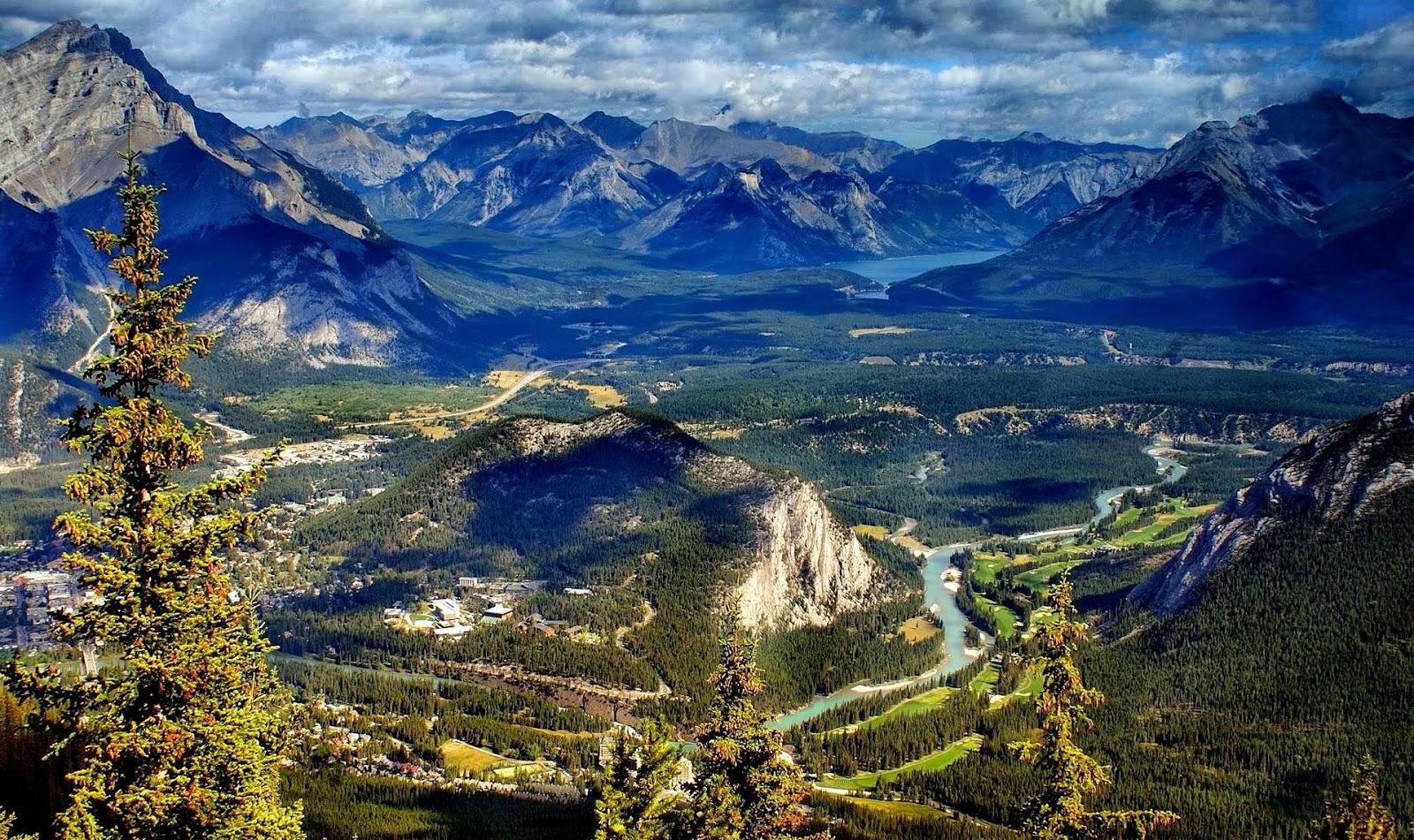 Banff national park, alberta, canada, summer - Wallpapers Pics