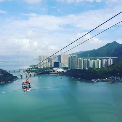 Cable Car Ride to Lantau Island Hong Kong