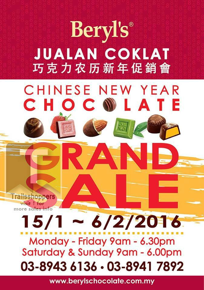 Beryl's Chocolate Chinese New Year Grand Sale