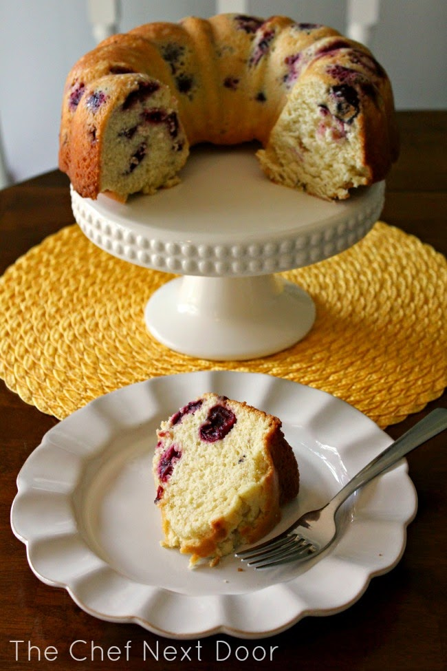 Sweet Cherry Bundt Cake | The Chef Next Door